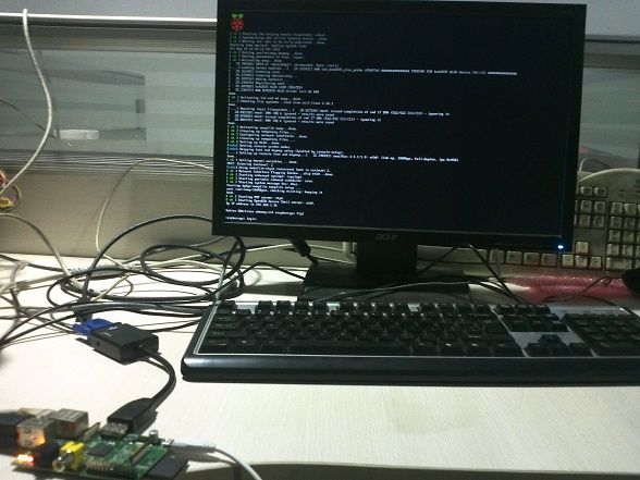 Raspberry Pi 启动界面