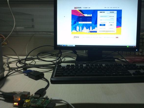 Raspberry Pi 网络浏览器